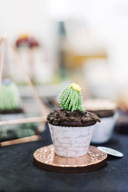 Food Styling - Kaktus Cupcake