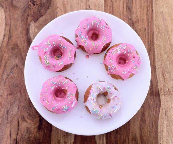 gebackene Doughnuts