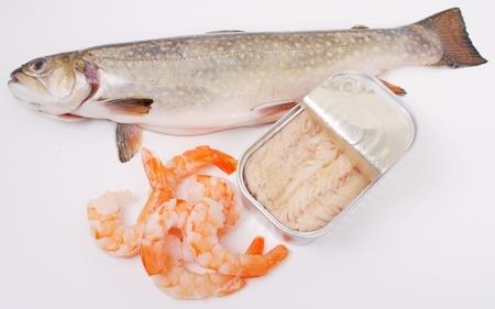 Fisch, Dosenfisch, Meeresfrüchte