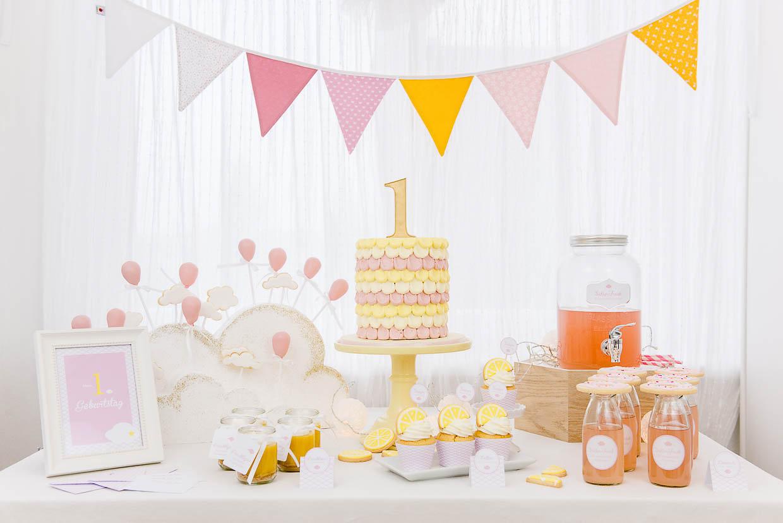 Food Styling - Buffet zum 1. Geburtstag