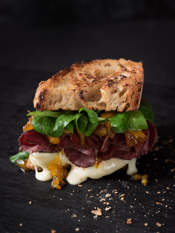 Food Styling Sandwich