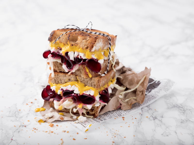Sandwich rote Rüben
