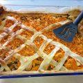 Karotten-Auflauf in der Auflaufform