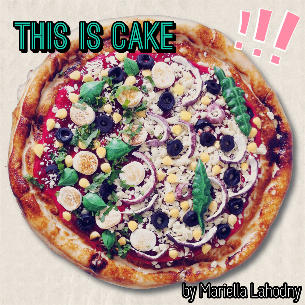 Cake that looks like pizza