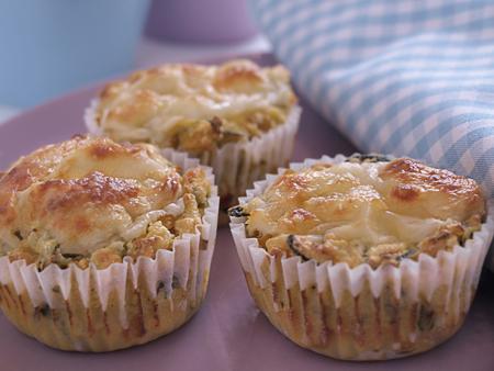 Pikante Mais-Zucchini-Muffins