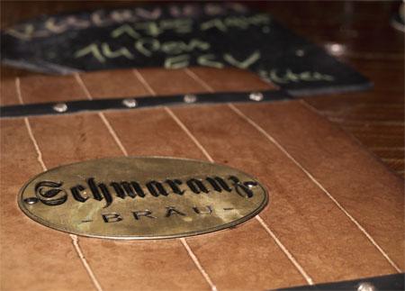 Speisekarte der Schmaranz