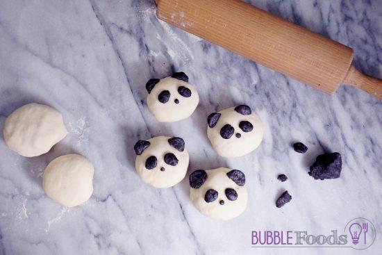 Pandas dekorieren