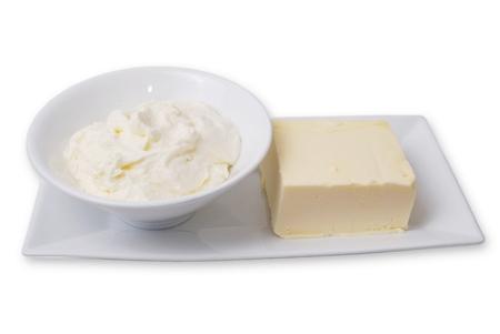 Schlagobers und Butter