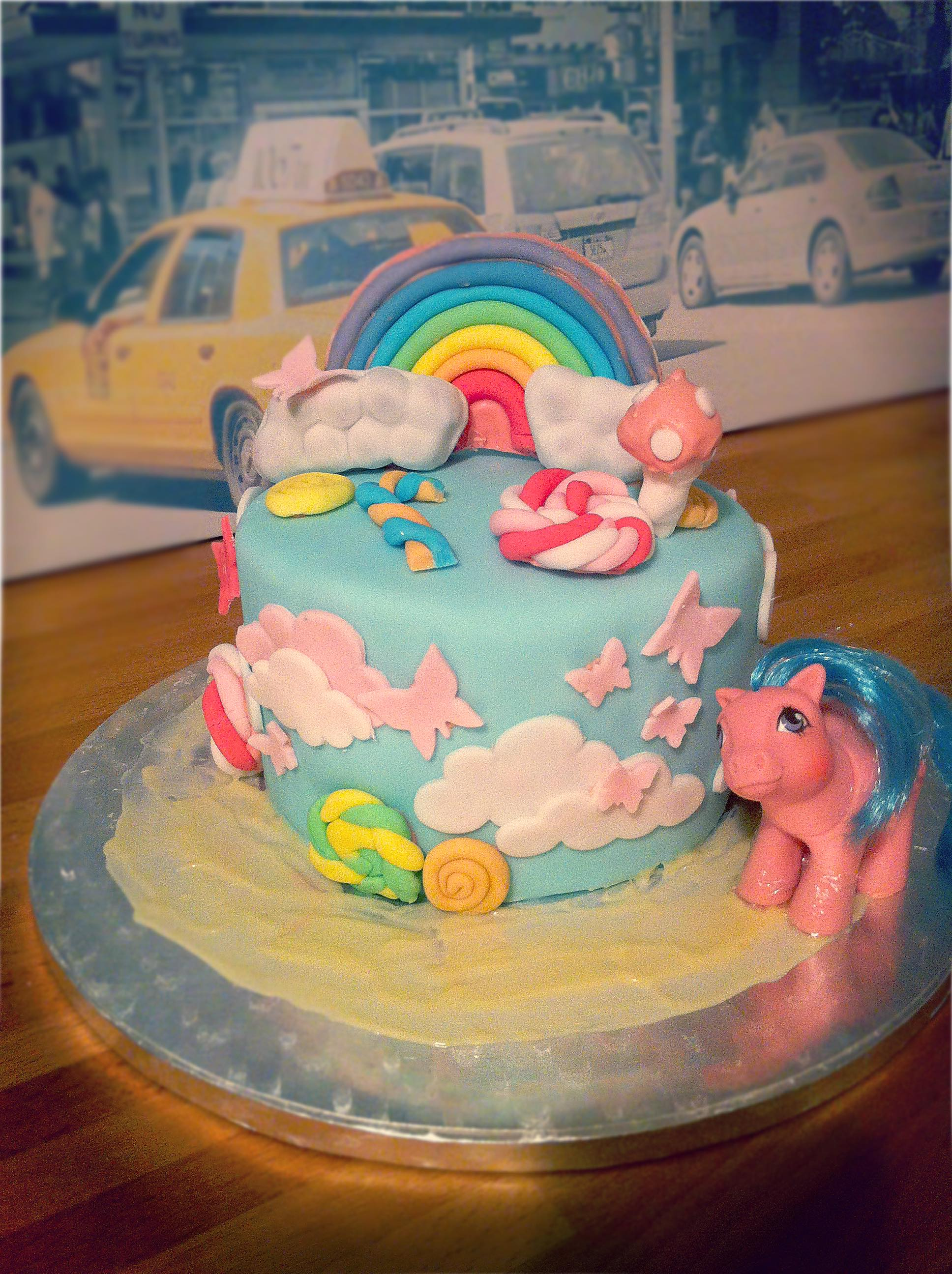 My Little Pony Cake Bubble Foods Mariella Lahodny