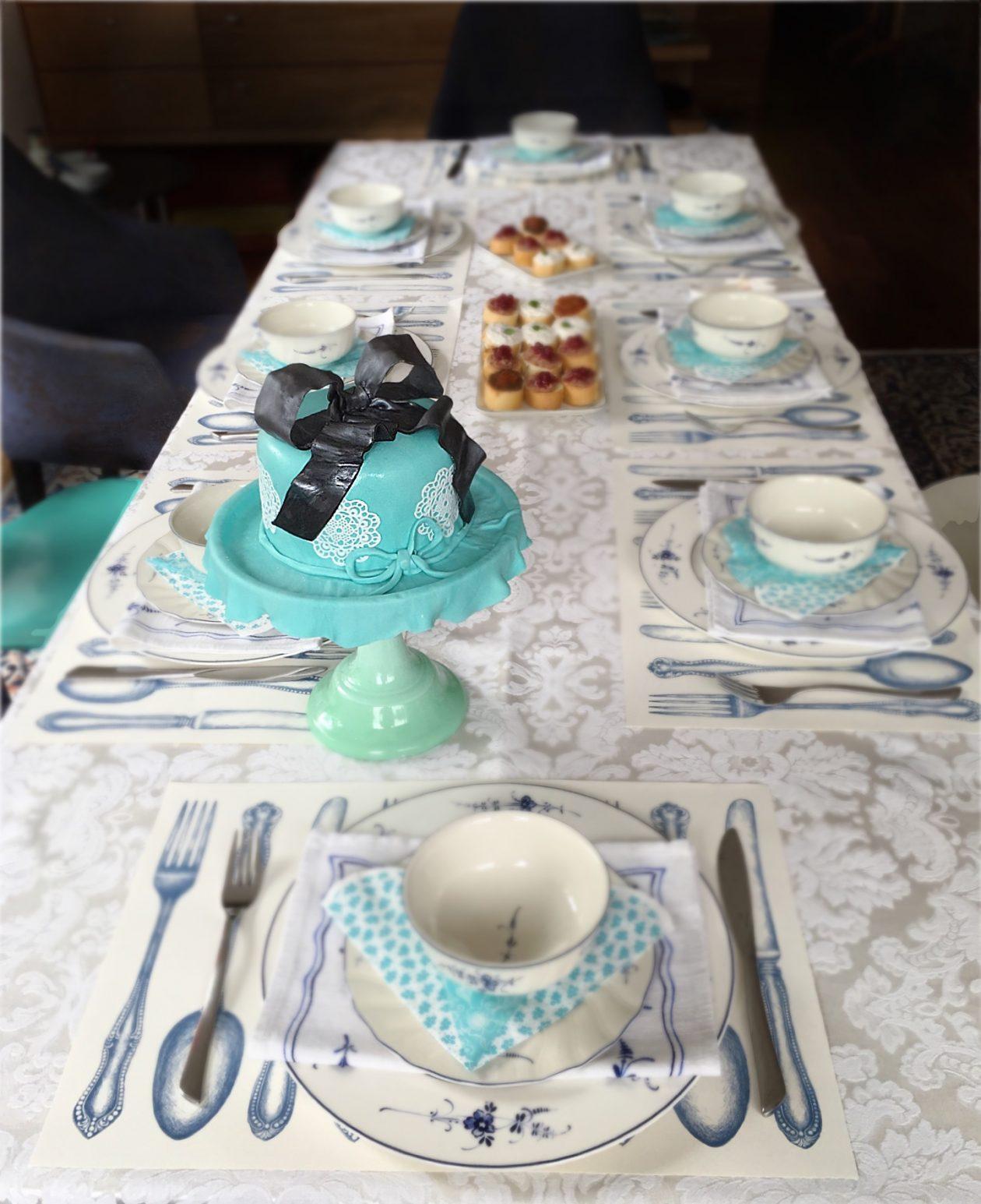 Torte türkis