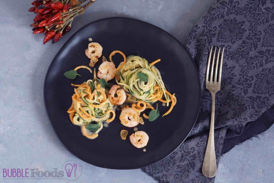 Zoodles Food Styling