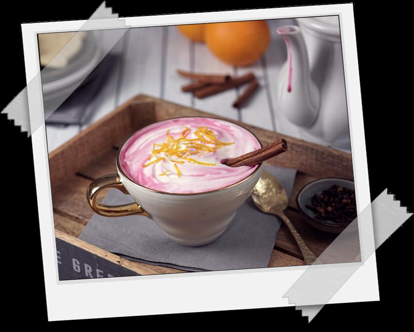 Pink Latte von Food Stylistin Mariella Lahodny-Bothe