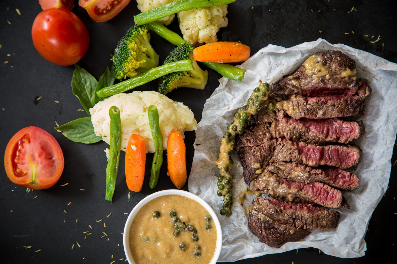 Foto von Steak